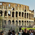 Turismo en Roma utilizando el metro